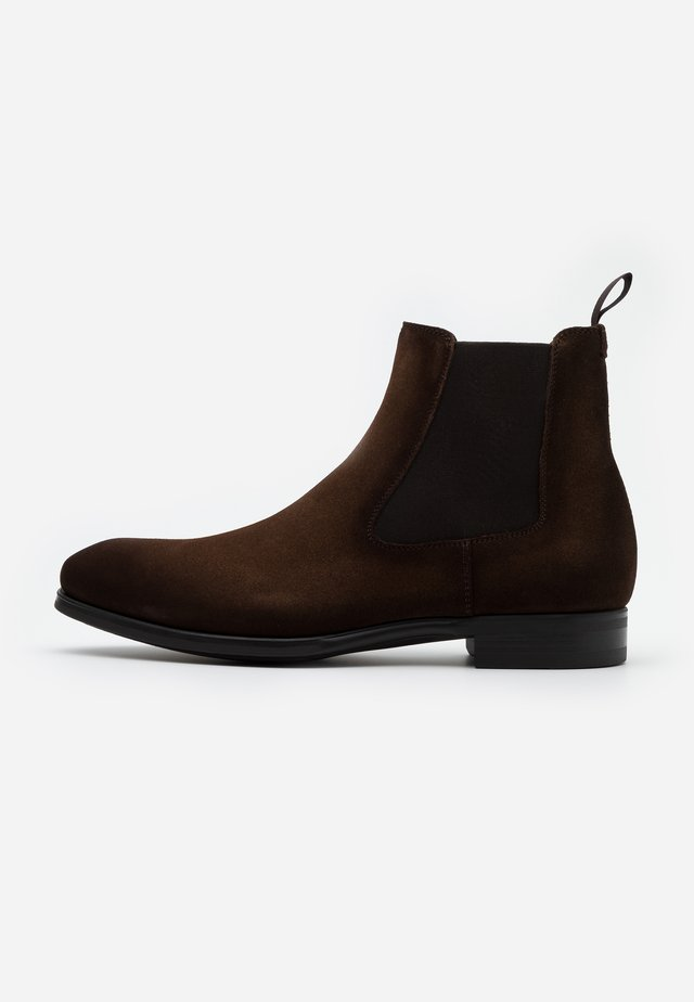 MADISON MARRON - Classic ankle boots - caoba