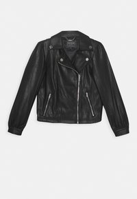 Guess - JUNIOR JACKET - Giacca in similpelle - jet black - 0