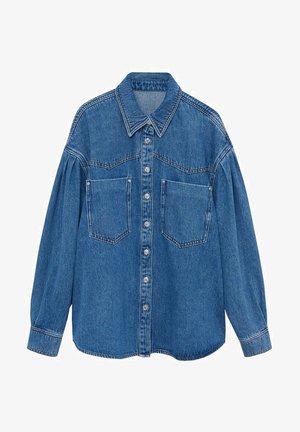 DENIM70 - Button-down blouse - tmavě modrá