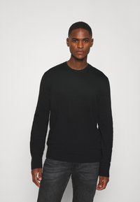 GAP - CORE CREW - Jersey de punto - true black - 0