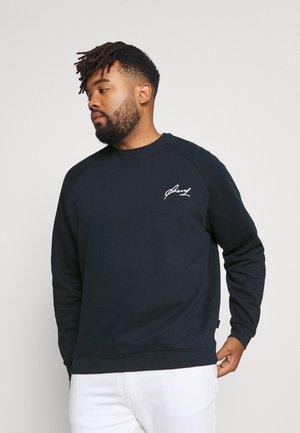 BIGBIG BASIC SCRIPT CREW - Sweater - dark blue