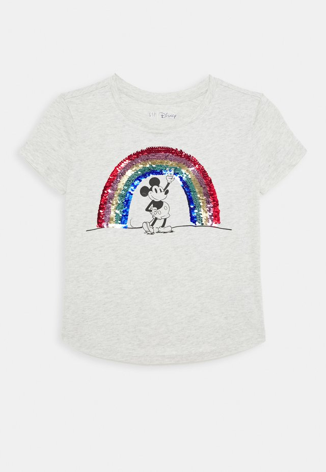 GIRL JUNE - T-shirt con stampa - grey heather