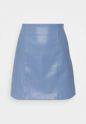 CELIA SKIRT - Mini skirt - blau