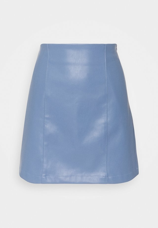 CELIA SKIRT - Mini skirts  - blau