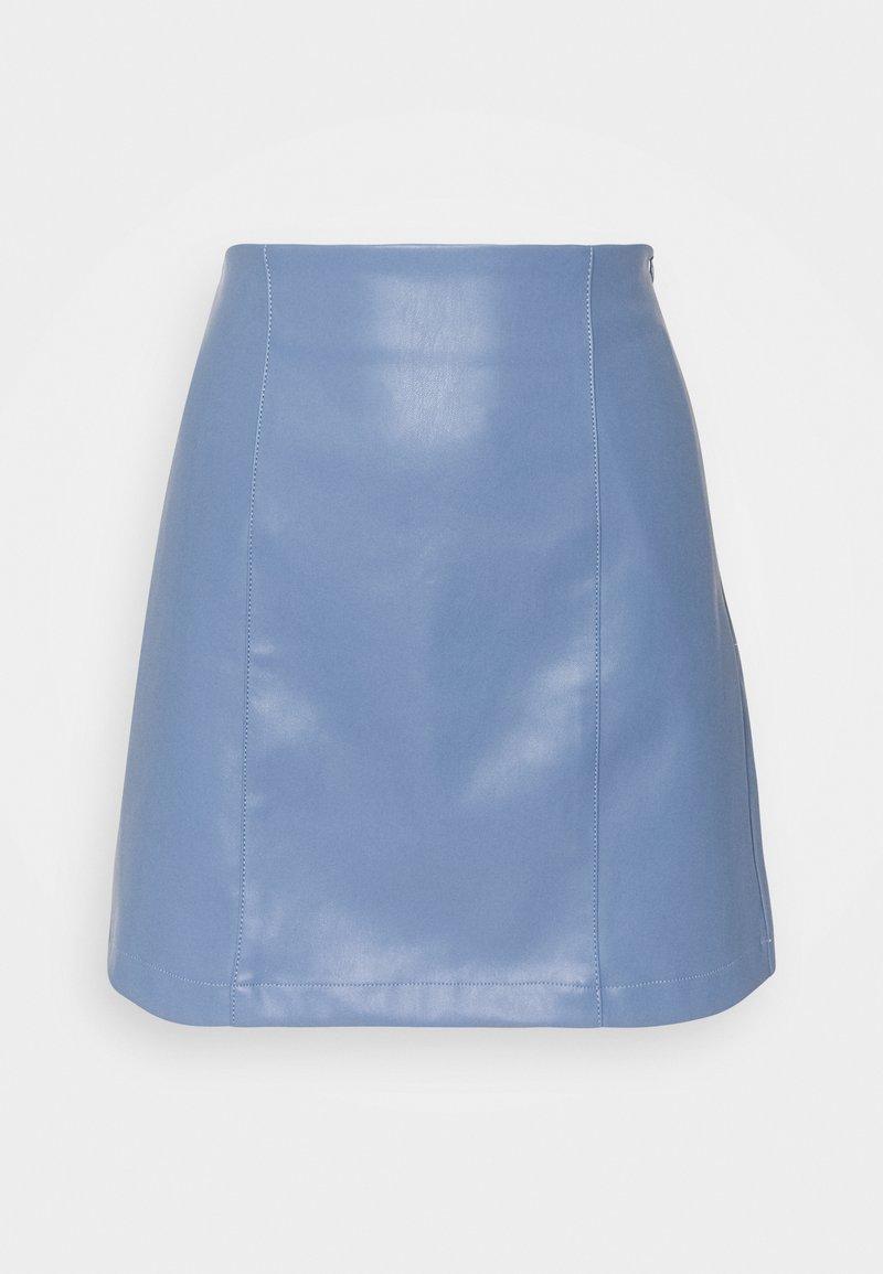 EDITED - CELIA SKIRT - Mini skirt - blau