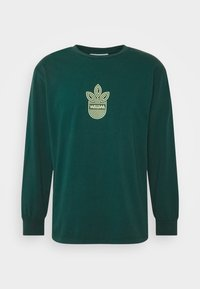 WAWWA - LEAF LOGO LONGSLEEVE UNISEX - Long sleeved top - jungle green - 5
