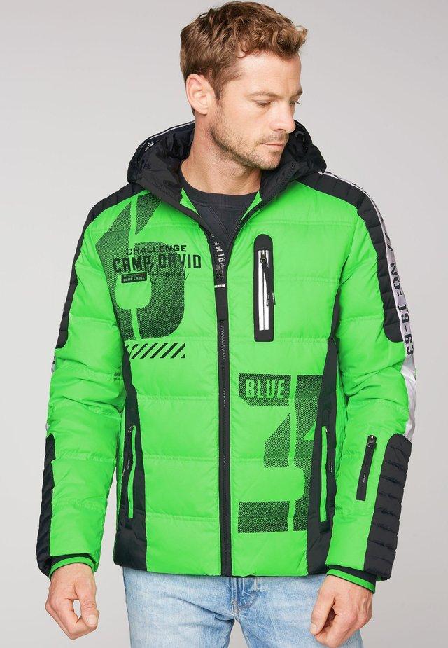 Down jacket - neon green