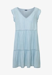 TINSLEY TIERED DRESS - Spijkerjurk - indigo light