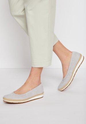 Ballerinat - light grey