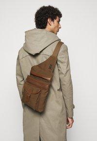 Belstaff - ALTON - Across body bag - beige - 0