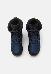 Jack Wolfskin - POLAR BEAR TEXAPORE HIGH UNISEX - Winter boots - blue/black - 3