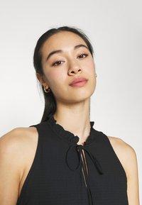 YAS - YASVELO DRESS - Maxi dress - black - 3