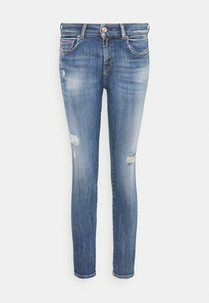 FAABY PANTS - Jeansy Slim Fit - medium blue