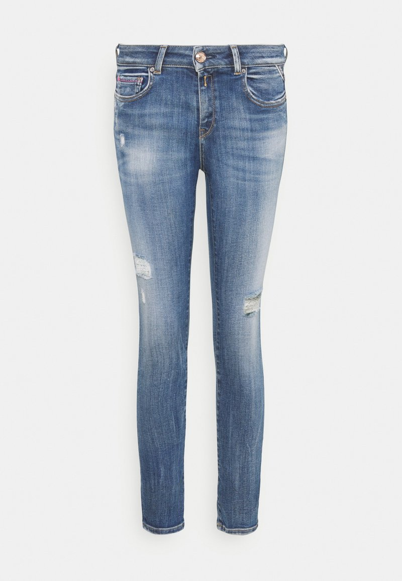 Replay - FAABY PANTS - Slim fit jeans - medium blue