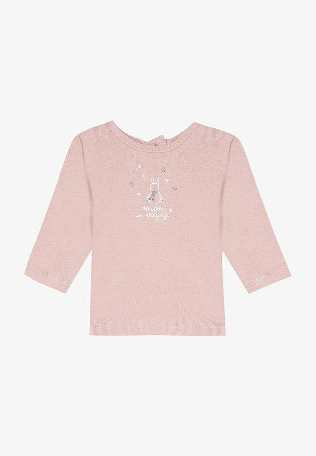 BOUTIQUE - T-shirt à manches longues - old pink