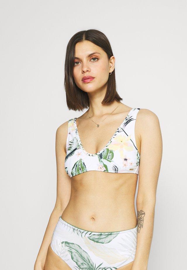 BLOOM ELTRI - Bikini-Top - bright white praslin