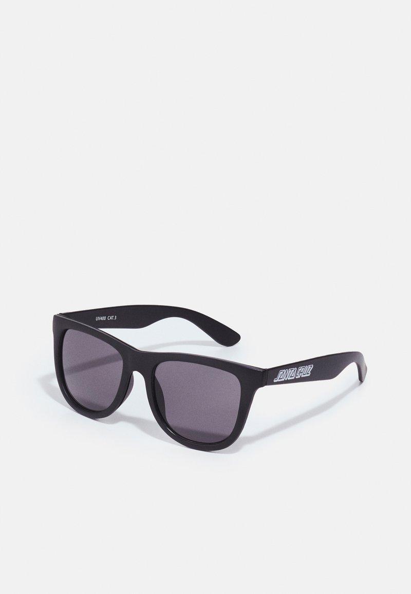Santa Cruz - CLASSIC STRIP SUNGLASSES UNISEX - Sunglasses - black
