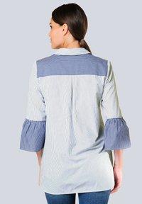 Alba Moda - Blouse - blau weiß - 2