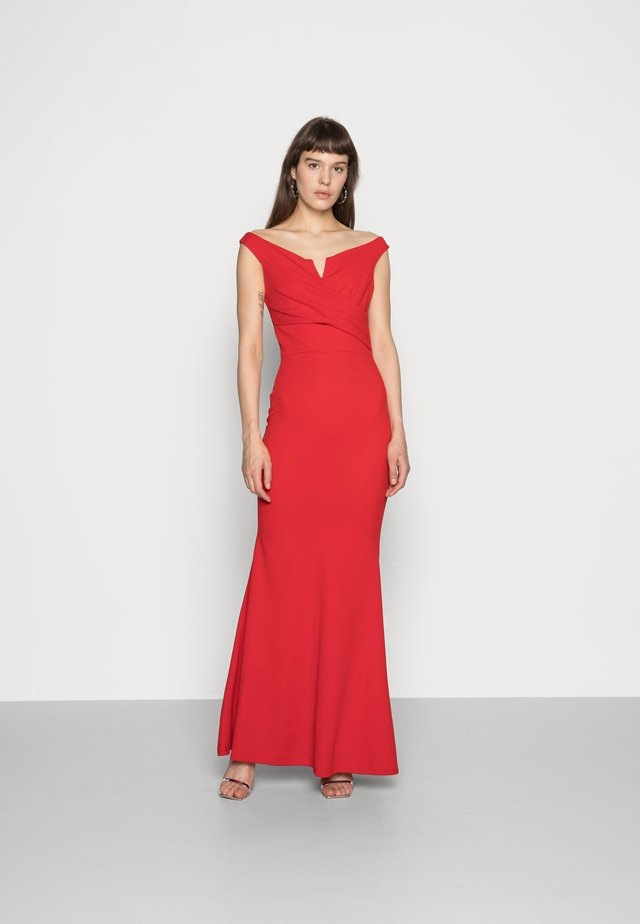 Maxi dress - red