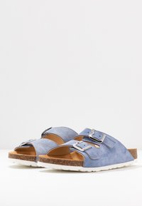 Bianco - BIABETRICIA - Slippers - light blue - 4
