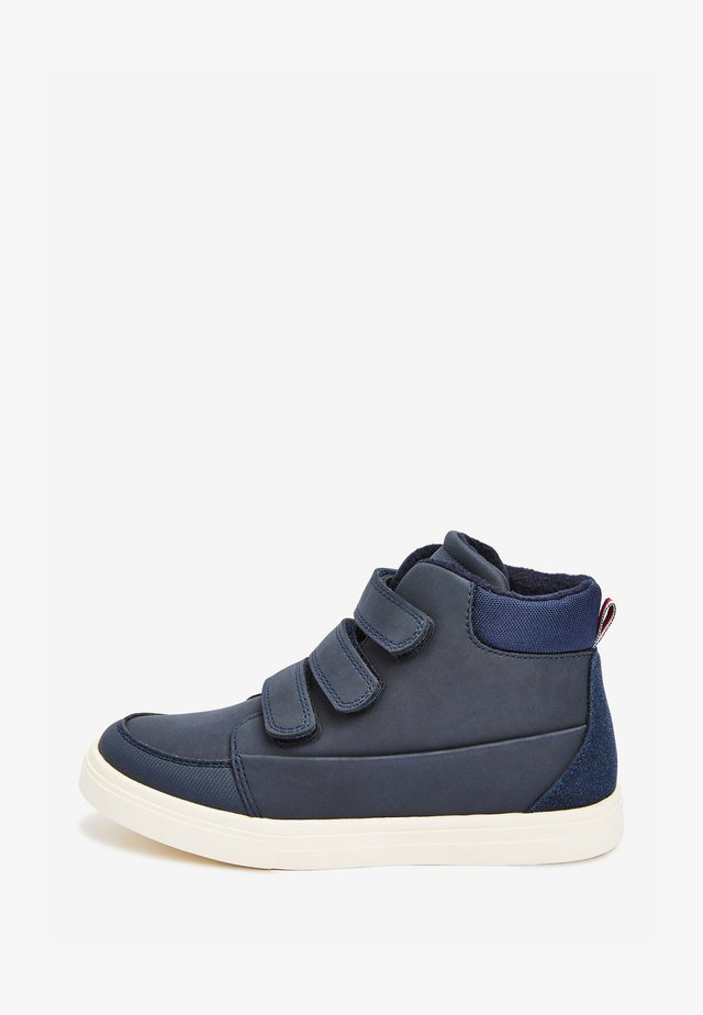 WARM LINED STRAP - Classic ankle boots - blue