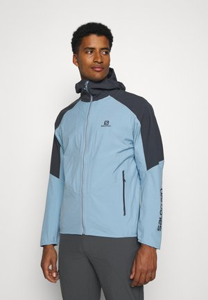 OUTLINE - Hardshell jacket - ashley blue/ebony
