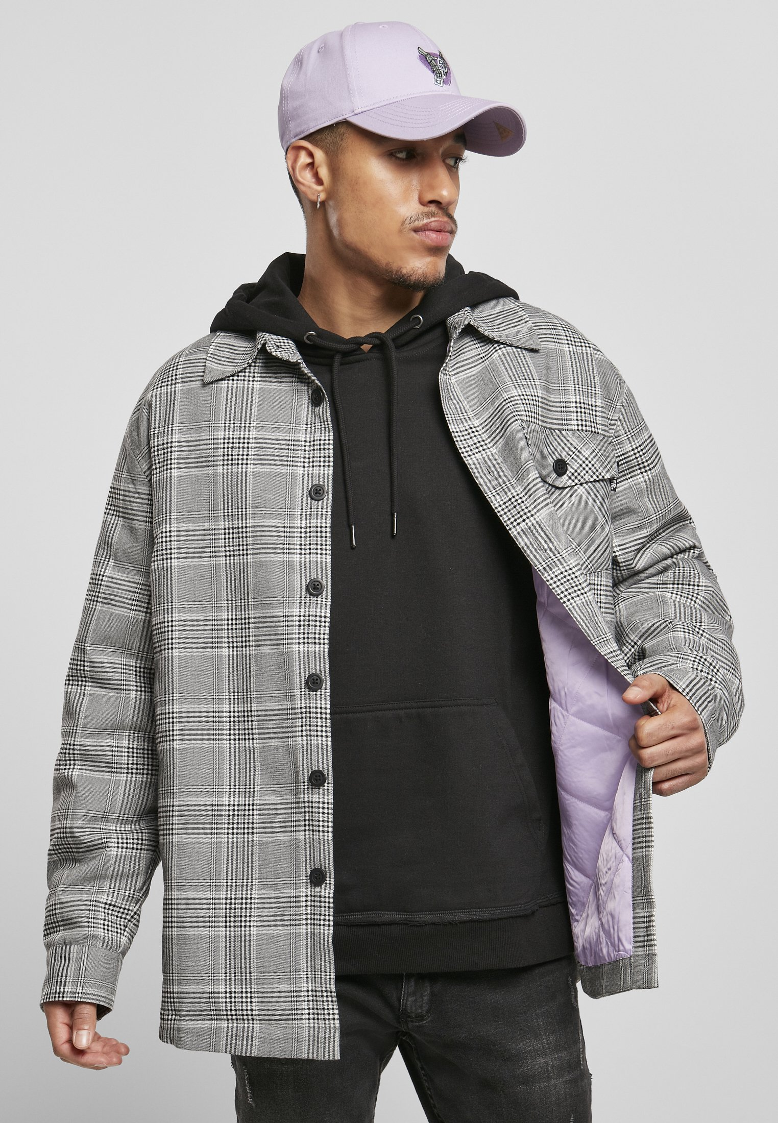 Uomo HERREN PLAID OUT QUILTED  - Giacca leggera