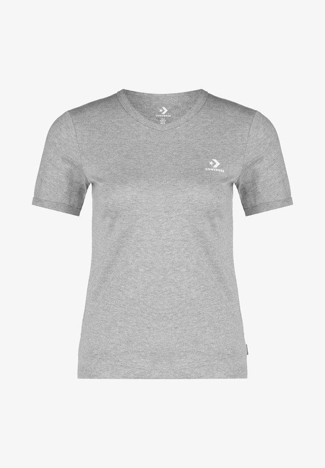 Basic T-shirt - vintage grey heather