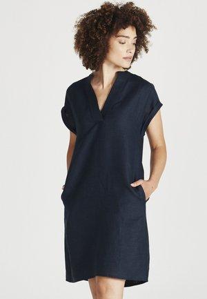 BIANCA - Day dress - midnight blue linen