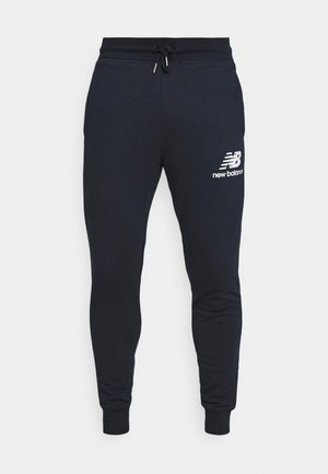 ESSENTIAL STACK LOGO  - Tracksuit bottoms - eclipse