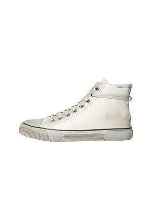 OSUN LEATHER HIGH TOP CHALK WHITE - Trainers - chalk white
