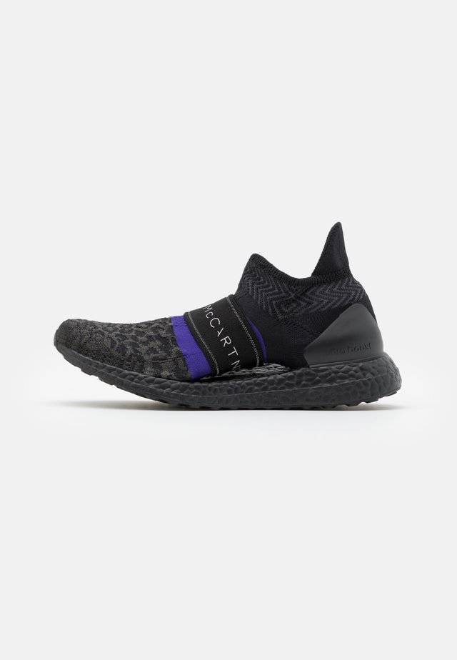 ULTRABOOST X 3.D. KNIT S. - Neutral running shoes - core black/collegiate purple