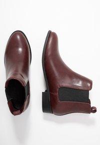 Bianco - BIABELENE CLASSIC CHELSEA - Ankle boot - burgundy - 3
