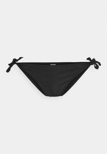 MACRAME CHEEKY - Bikini bottoms - black