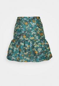 Who What Wear - FLIPPY MINI SKIRT - A-line skirt - daisy - 1