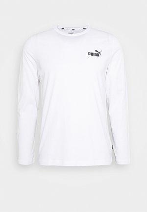 SMALL LOGO LONGSLEEVE TEE - Long sleeved top - white