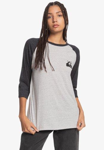 Long sleeved top - light grey heather