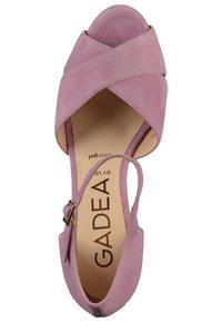 Gadea - Sandales à talons hauts - ante lavanda - 1