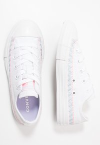 Converse - CHUCK TAYLOR ALL STAR - Sneakers basse - white/moonstone violet - 0