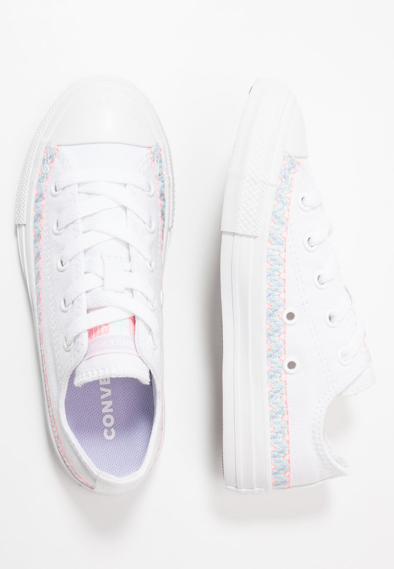 Converse - CHUCK TAYLOR ALL STAR - Sneakers basse - white/moonstone violet