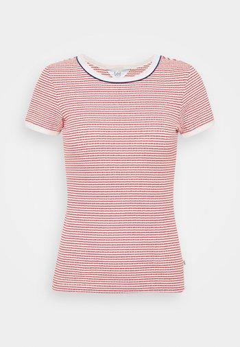 GRAPHIC TEE - T-shirts print - aurora red