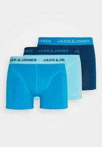 Jack & Jones - JACMONGE TRUNKS 3 PACK - Pants - crystal seas/ibiza blue - 4