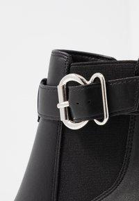 New Look - BRICK - Boots à talons - black - 2