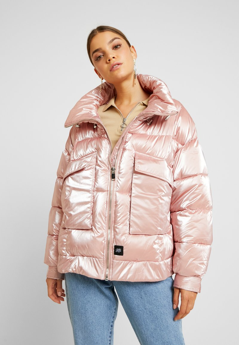 Sixth June - OVERSIZED CHEST POCKET - Winter jacket - pink