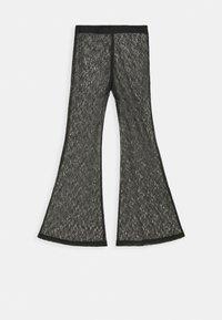 Weekday - JULIE TROUSER - Trousers - black - 4