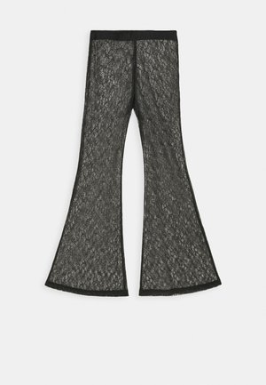 JULIE TROUSER - Pantalones - black