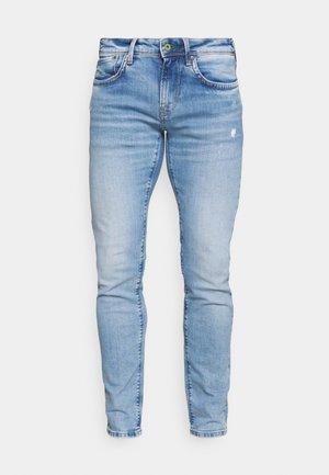 HATCH - Jeans slim fit - light-blue denim