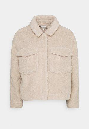 ONLMARINA CROP JACKET - Light jacket - humus