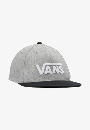 Cappellino - heather grey/black
