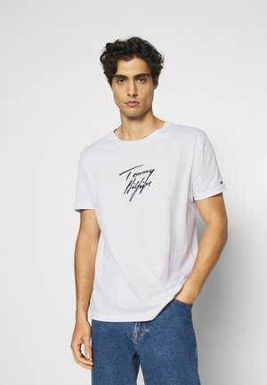 TEE LOGO - Pyjama top - white